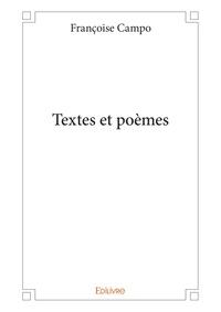 Françoise Campo-Timal - Textes et poèmes.