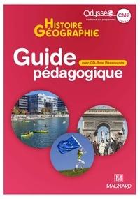 Françoise Changeux-Claus et Marie-Jeanne Ouriachi - Histoire Géographie CM2 Odysséo - Guide pédagogique. 1 Cédérom