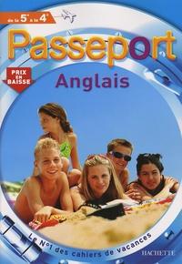 Accentsonline.fr Passeport Anglais de la 5e à la 4e Image