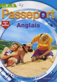 Passeport Anglais de la 6e à la 5e - Françoise Chaze | Showmesound.org