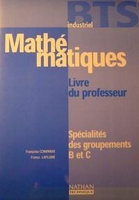 Accentsonline.fr Mathématiques BTS industriel Spécialités des groupements B et C - Livre du professeur Image