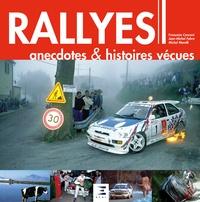 Françoise Conconi et Jean-Michel Fabre - Rallyes - Anecdotes & histoires vécues.