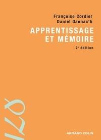 Françoise Cordier et Daniel Gaonac'h - Apprentissage et mémoire.