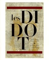 Histoiresdenlire.be LES DIDOT. - Trois siècles de typographie et de bibliophilie 1698-1998 Image