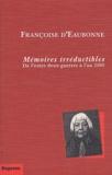Françoise d'Eaubonne - .