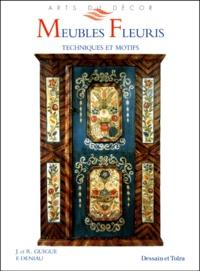Deedr.fr MEUBLES FLEURIS. Techniques et motifs Image