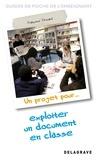 Françoise Drouard - Un projet pour exploiter un document en classe.