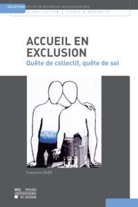 Françoise Duby - Accueil en exclusion - Quête de collectif, quête de soi.