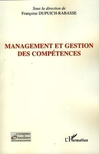 Françoise Dupuich-Rabasse - Management et gestion des compétences.