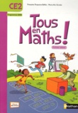 Françoise Duquesne-Belfais et Marie-Alix Girodet - Maths, CE2, Tous en maths ! - Fichier élève, programme 2008.