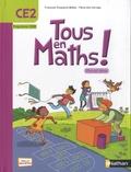 Françoise Duquesne-Belfais et Marie-Alix Girodet - Maths CE2 Tous en maths - Programme 2008.