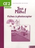 Françoise Duquesne-Belfais et Marie-Alix Girodet - Maths CE2 Tous en maths - Fiches à photocopier, programme 2008. 1 Cédérom