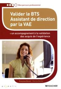 Françoise Ebrard et Patricia Mortier - Valider le BTS Assistant de direction par la VAE.