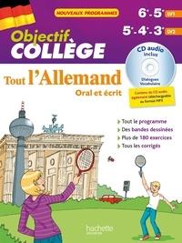 Françoise Ehmann - Tout l'Allemand 6e-5e LV1, 5e-4e-3e LV2 - Oral et écrit. 1 CD audio