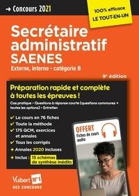 Françoise Epinette et René Guimet - Concours Secrétaire administratif et SAENES - Catégorie B - Préparation rapide et complète à tout... - Concours externe et interne 2021.