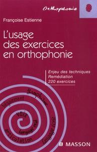 Deedr.fr L'usage des exercices en orthophonie - Enjeux des techniques, Remédiation, 220 exercices Image