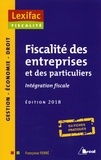 Françoise Ferré - Fiscalité des entreprises et des particuliers - Intégration fiscale.