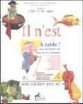 Françoise Fontalbe et Yohan Bénard - Il n'est jamais trop tôt pour cuisiner avec art. 1 CD audio
