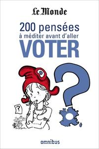 Deedr.fr 200 pensées à méditer avant d'aller voter Image