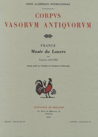 Françoise Gaultier - Corpus Vasorum Antiquorum - France fascicule 39, Musée du Louvre fascicule 26, Céramiques étrusques à figures noires.
