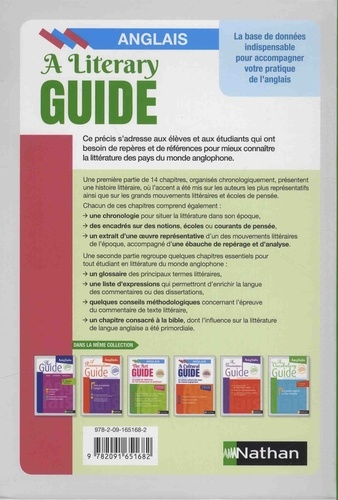 The Literary Guide. A Guide to the literature of the United Kingdom, the United States and the Commonwealth 1000-2000