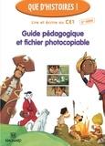 Françoise Guillaumond et Françoise Lagache - Lire et écrire au CE1 - Guide pédagogique et fichier photocopiable.