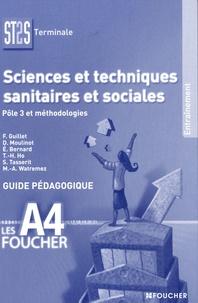 Françoise Guillet - Sciences et techniques sanitaires et sociales Tle ST2S - Guide pédagogique.