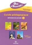 Françoise Gullaumond et Françoise Lagache - Guide pédagogique, méthode de lecture CE1 Série 1 - Guide pédagogique avec 45 fiches photocopiables.