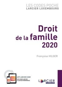 Françoise Hilger - Code poche Larcier-Luxembourg - Droit de la famille 2020.