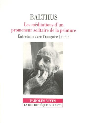 Françoise Jaunin et  Balthus - .