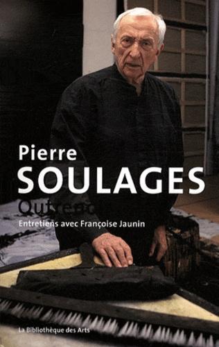 Françoise Jaunin - Pierre Soulages - Outrenoir.