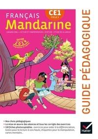 Françoise Lagache - Français CE1 Cycle 2 Mandarine - Guide pédagogique.