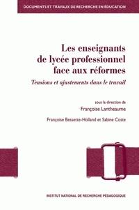 Deedr.fr Les enseignants de lycée professionnel face aux réformes - Tensions et ajustements dans le travail Image