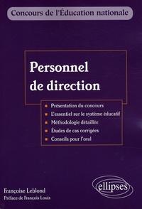 Françoise Leblond - Personnel de direction.