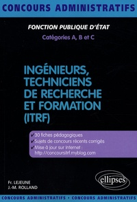 Françoise Lejeune et Jean-Michel Rolland - Ingénieurs, techniciens de recherche et formation (ITRF).