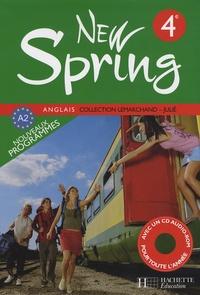 Françoise Lemarchand et Kathleen Julié - Anglais 4e New Spring. 1 CD audio
