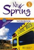 Françoise Lemarchand et Kathleen Julié - Anglais 5e New Spring - Workbook.