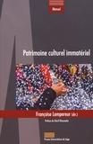 Françoise Lempereur - Patrimoine culturel immatériel.
