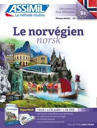 Françoise Liegaux Heide et Tom Holta Heide - Le norvégien - Superpack avec clé usb. 4 CD audio