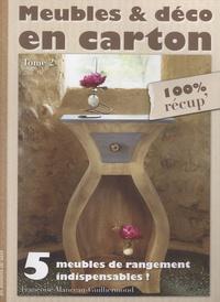 Meubles & déco en carton - Tome 2, 5 meubles de rangement indispensables!.pdf