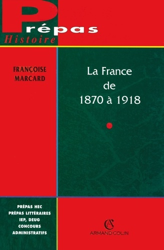 La France de 1870 à 1918