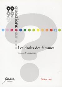 Françoise Martinetti - Les droits des femmes.