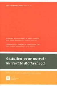 Françoise Monéger - Gestation pour autrui : Surrogate Motherhood.
