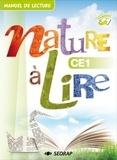 Françoise Monier-Roland et Claudine Barou-Fret - Nature à lire CE1.