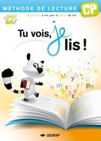 Françoise Monier-Roland et Claudine Barou-Fret - Tu vois, je lis ! CP - Méthode de lecture.