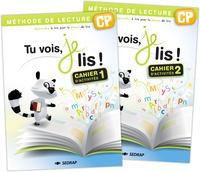 Françoise Monier-Roland et Claudine Barou-Fret - Tu vois, je lis ! CP - 2 volumes : cahier d'activités 1 et 2.