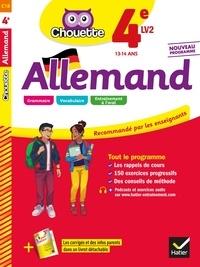 Françoise Munoz - Allemand 4e - LV2 (A1+, A2) - cahier d'entraînement et de révision.