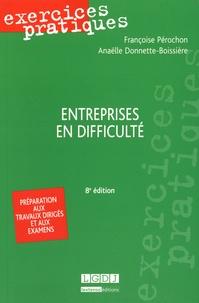 Françoise Pérochon et Anaëlle Donnette-Boissière - Entreprises en difficulté.