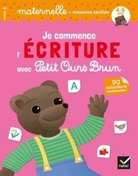 Deedr.fr Je commence l'écriture avec Petit Ours Brun Maternelle moyenne section - Avec 90 autocollants repositionnables! Image