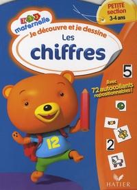 Françoise Perraud et Florence Doutremépuich - Je découvre et je dessine les chiffres - Maternelle Petite Section.
